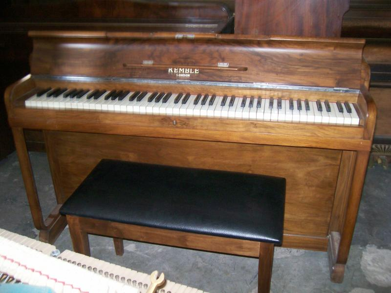 Hjg 04 Kemble Upright Pianoforte Serial Number 73813