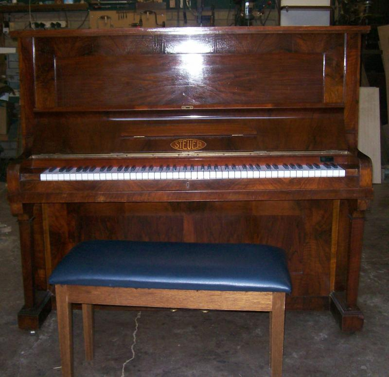 Hjg 04 kemble upright pianoforte serial number 73813 for Small upright piano dimensions